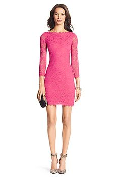 In punchy yet playful Hot Rose, the DVF Zarita is the ultimate party dress