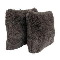 Fur Pillow, Fur Throw Pillows, Faux Fur Throw, Throw Pillow Sets, Baby Clothes Shops, Decorative Pillows, Charcoal, Target, Therapy