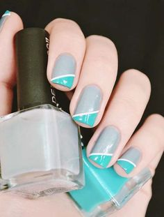 Cool nail art for summer 2017
