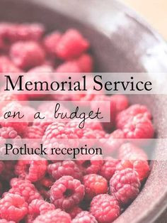 How do you make a budget for a funeral?