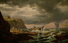Image result for famous norwegian landscape paintings