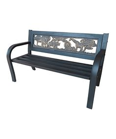 This Steel Safari Kiddie Bench Is Perfect Zulilyfinds