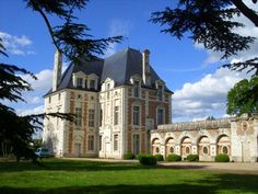 Le château de Selles sur Cher avec son trésor: des fresques du VIIe siècle nouvellement découvertes sous l'enduit de plâtre