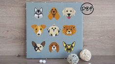 Dog cross stitch pattern pdf Dog embroidery pattern Hoop art Dog portrait Gift for dog lover gift Dog wall art Dog mom Dogs breeds by AnnaXStitch on Etsy https://www.etsy.com/listing/531199836/dog-cross-stitch-pattern-pdf-dog