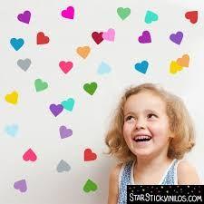 Resultado de imagen de murales con corazones