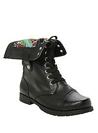 Marvel Comics Combat Boot from Hot Topic