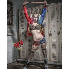 """Hey guys!  It's time to help sexiest girl, @kikitray. Voting has officially begun! Please vote for her (if you wanna :D) by going to the squad up Suicide cosplay contest page http://www.dccomics.com/blog/2016/06/09/the-squad-up-suicide-squad-cosplay-contest ,clicking view entries, then search """"kiki"""" and cast ya vote! You can vote once an hour over the next 4 days (though I'm not asking you to do that xD, unless you want :P). The contest winner gets to go to SDCC and do Suicide Squad schtuff…"""