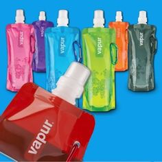 Outdoor-Portable-Folding-Plastic-Collapsible-With-Buckle-Water-Bottle-Colorful