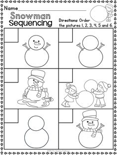 This packet contains Winter themed alphabet practice rhyming syllables reading comprehension pattern Kindergarten Readiness, Kindergarten Worksheets, Preschool Activities, Winter Literacy Kindergarten, Math Literacy, Theme Noel, School Themes, Reading Comprehension, Comprehension Worksheets