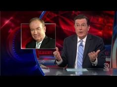 """Stephen Colbert Totally Destroys Bill O'Reilly on ISIS - """"Bleeping Egoma..."""