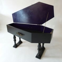 Coffin Coffee Table 2 Coffin End Tables morbid fascination