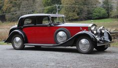 1935 Rolls Royce Phantom II Continental Sports Saloon by Barker. The design totally belies the sheer size of this car.