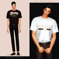 Brand T-Shirt for The Sims 4