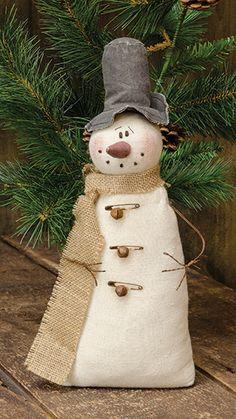 KP Creek Gifts - Vintage Snowman, Medium