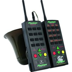 The Phantom Elk Pro-Series wireless call comes complete with a remote transmitter, remote receiver module, and two long-range antennas. With the Phantom Elk Pro Deer Calls, Predator Hunting, Predator 2, Snare Trap, Hunting Supplies, Dog Line, Game Calls, Hunting Gear, At Home Gym