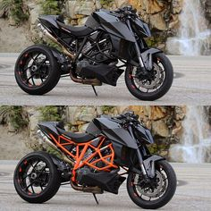 The Austrian company KTM releases every year styling and upgrades, but the most interesting motorcycles in my opinion are DUKEs family Ktm Duke, Duke Bike, Motorcycle Dirt Bike, Futuristic Motorcycle, Moto Bike, Ktm Dirt Bikes, Ktm Super Duke, Ducati Motorcycles, Husqvarna