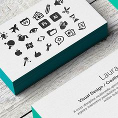 25 Fresh and Creative Business Card Designs Inspiration