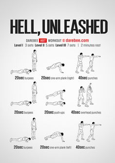 Hell, Unleashed Workout
