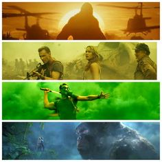 """The luscious, vibrant, & utterly cinematic colorscape of @VogtRoberts' KONG: SKULL ISLAND"" (https://mobile.twitter.com/CinemaGrids/status/872256673141866496 )"