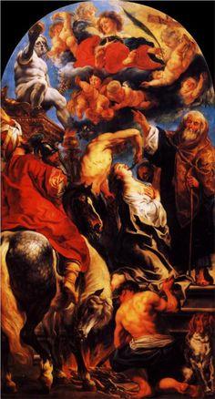 Jacob Jordaens, The Martyrdom of St. Apollonia, 1628