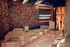 It's one thing to shun the conventions of bar design, and quite another to turn them completely on their head. Those who've experienced Steve Smith's venues before, for example Smack and The Duke Terrace, shouldn't … Restaurant Bar, Terrace, Restaurants, Spa, Interiors, Design, Home Decor, Balcony, Decoration Home