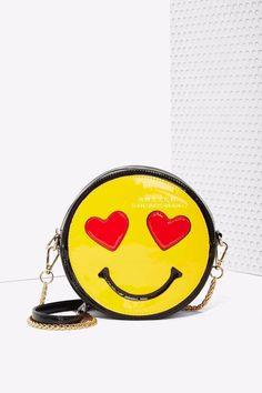 Nasty Gal x Nila Anthony Emojinal Crossbody Bag - Accessories Cool Emoji, Emoji Love, Cute Purses, Purses And Bags, Sacs Design, Emoticons, Smileys, Cute Bags, Bagan