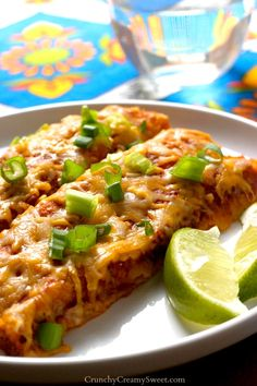 Black Beans and Quinoa Enchiladas Recipe - Crunchy Creamy Sweet