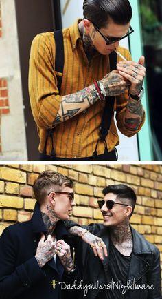 Tattooed Men. Need I say more??
