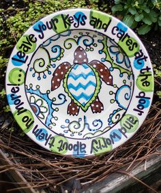 This Sea Turtle Key Bowl is perfect! #zulilyfinds