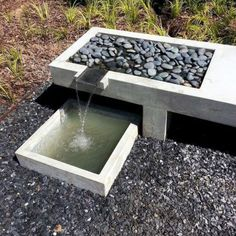 Water features are an important aspect of custom landscape design. Landscape specializes in designing and installing water features and excels . *** Learn more information by clicking the link on the image. Modern Landscape Design, Modern Landscaping, Landscape Architecture, Backyard Landscaping, Landscaping Ideas, Modern Backyard, Architecture Design, Modern Water Feature, Backyard Water Feature