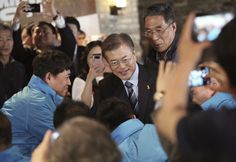 South Korea's likely next president asks the U.S. to respect its democracy