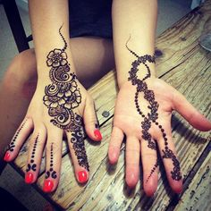 Beautiful party henna #Partyhenna #makeupandcakeup #mucu_uk #mucu #henna #mendhi #love #hennalondon #hennaessex #modernhenna
