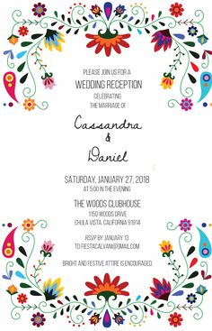 Invitation Mexican Wedding Invitations, Party Invitations, Invites, Mexican Birthday, Mexican Party, Quinceanera Decorations, Quinceanera Invitations, Fiesta Theme Party, Party Themes