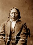 Chief Joseph Drifting Goose  Born: 1821  Died: May 18, 1909  Crow Creek Reservation.