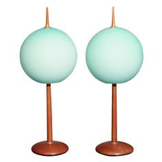 Gorgeous Pair of Italian Table Lamps | From a unique collection of antique and modern table lamps at http://www.1stdibs.com/furniture/lighting/table-lamps/