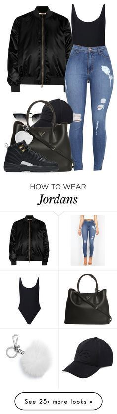 """"""" She a dime, but I always lose change"""" by alexanderbianca on Polyvore featuring Givenchy, Forever 21, Y-3, Prada, Michael Kors and NIKE"""
