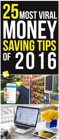 24 Most Viral Money Saving Tips of 2016 Over the last 12 months, we discovered surprising new ways t Best Money Saving Tips, Money Saving Challenge, Ways To Save Money, Money Tips, Saving Money, Financial Peace, Financial Tips, Frugal Tips, Frugal Living Tips