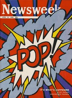 Newsweek (1966) Pop Art / Roy Lichtenstein