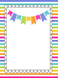 Teacher Planner Template by The Teaching Q Binder Cover Templates, Planner Template, Borders For Paper, Borders And Frames, Diy And Crafts, Crafts For Kids, Paper Crafts, Student Binder Covers, School Frame