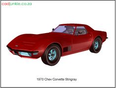 3D Vehicle: 1970 Chev Corvette Stingray CAD Format: AutoCAD 2013 Block Type: 3D Mesh Units: mm Autocad, 3d Mesh, 3d Cad Models, Cad Blocks, Corvette, Muscle Cars, 3 D, Transportation, The Unit
