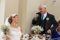 The Father of the Bride speech at Claire and Cona's Real Wedding
