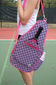 672b5ac699 Time to get Knotty on the Pickleball court! Get the Sydney Pickleball bag  now available at #NicolesTennisBoutique ⚓ 🎀 www.nicolestennisboutique.com