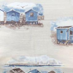 Hamptons viram estampa de tecidos: balneário de luxo inspira linha da Entreposto