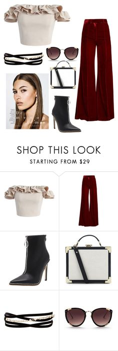 """Untitled #19"" by parmgill-28 on Polyvore featuring Chicwish, Racil, Aspinal of London, Kenneth Jay Lane and Rebecca Taylor"