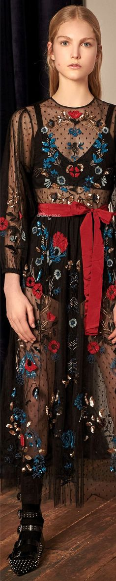 Red Valentino Fall 2017 RTW