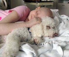 Our daughter, AmberHaze, had a long stay at Akron Children's Hospital due to cancer. While my daughter had countless stays as an inpatient, she knew she could ALWAYS count on Doggie Brigade member Sammy and his mommy, Barbara, to cheer her up, even on the days she felt her worst and just wanted to cuddle with her puppy.