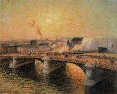 Camille Pissarro Impressionist | Jacob Camille Pissarro 1830-1903 | French Impressionist