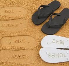 (Ideia super criativa para lembrança aos padrinhos e madrinhas)Beach wedding's gift for guest