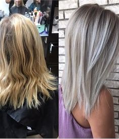 MAKEOVER: Killing the Brass For A Bright Ashy Blonde - Hair Color - Modern Salon