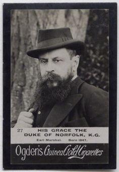 Henry Fitzalan-Howard, 15th Duke of Norfolk - Norfolk jackets origin - vintage fashion for men.